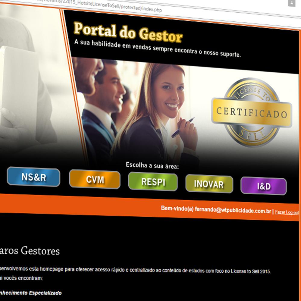 Novartis - Portal do Gestor