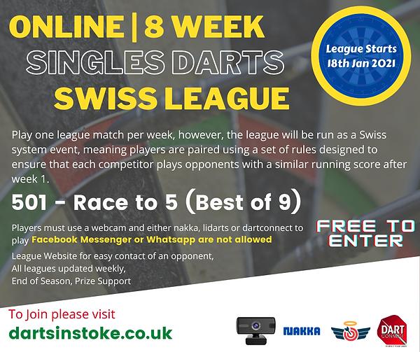 Darts knockouts online virtual darts