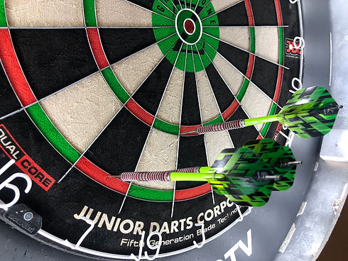 darts academy green zone dart board