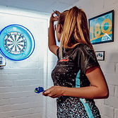 Sarah Milkowski darts