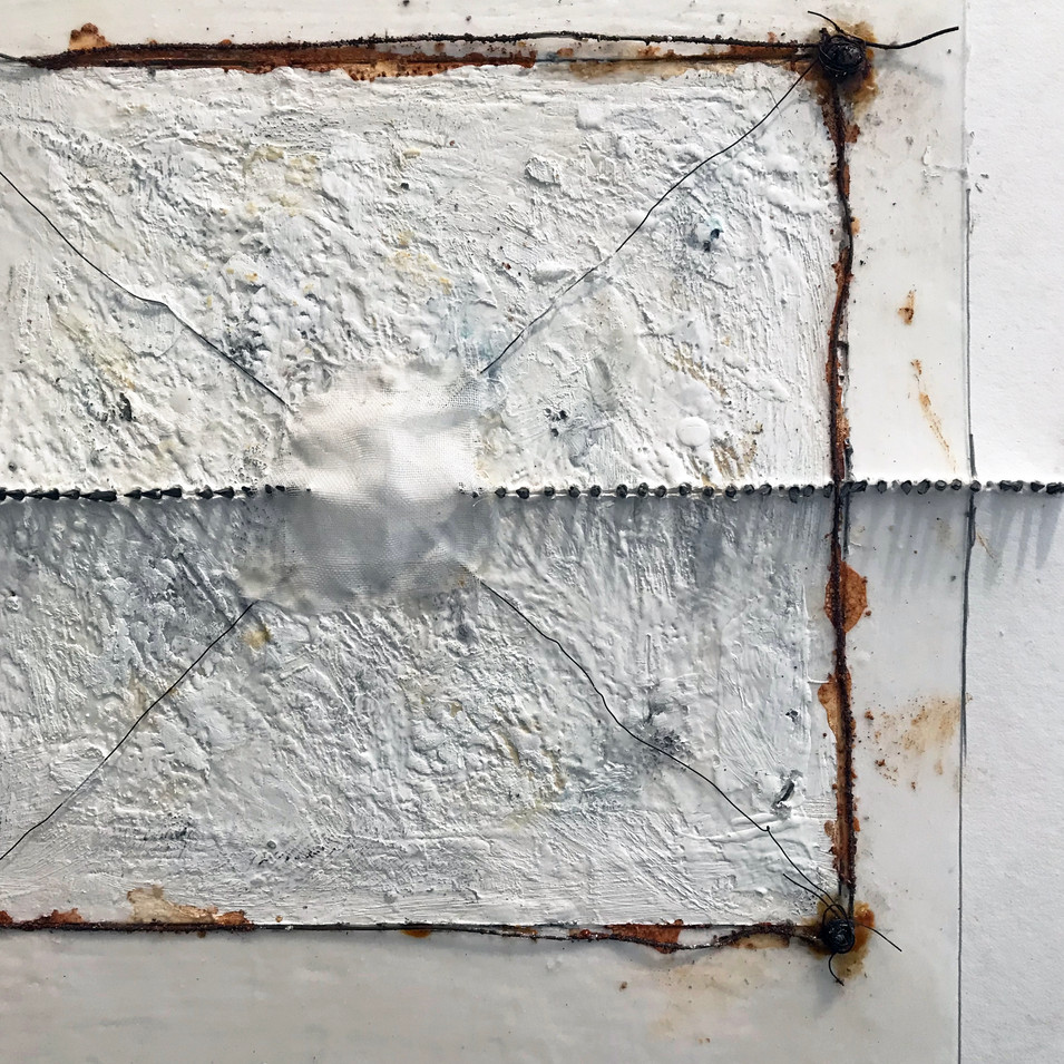 Two Pierced Squares detail