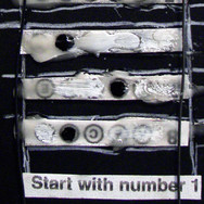 detail of Start With Number 1