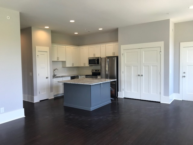 Open Kitchen with Appliances Included