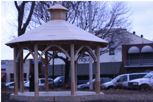 Covington Square Gazebo Model