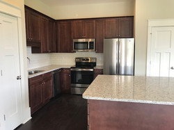 Stainless Steel Appliances and Granite Countertops