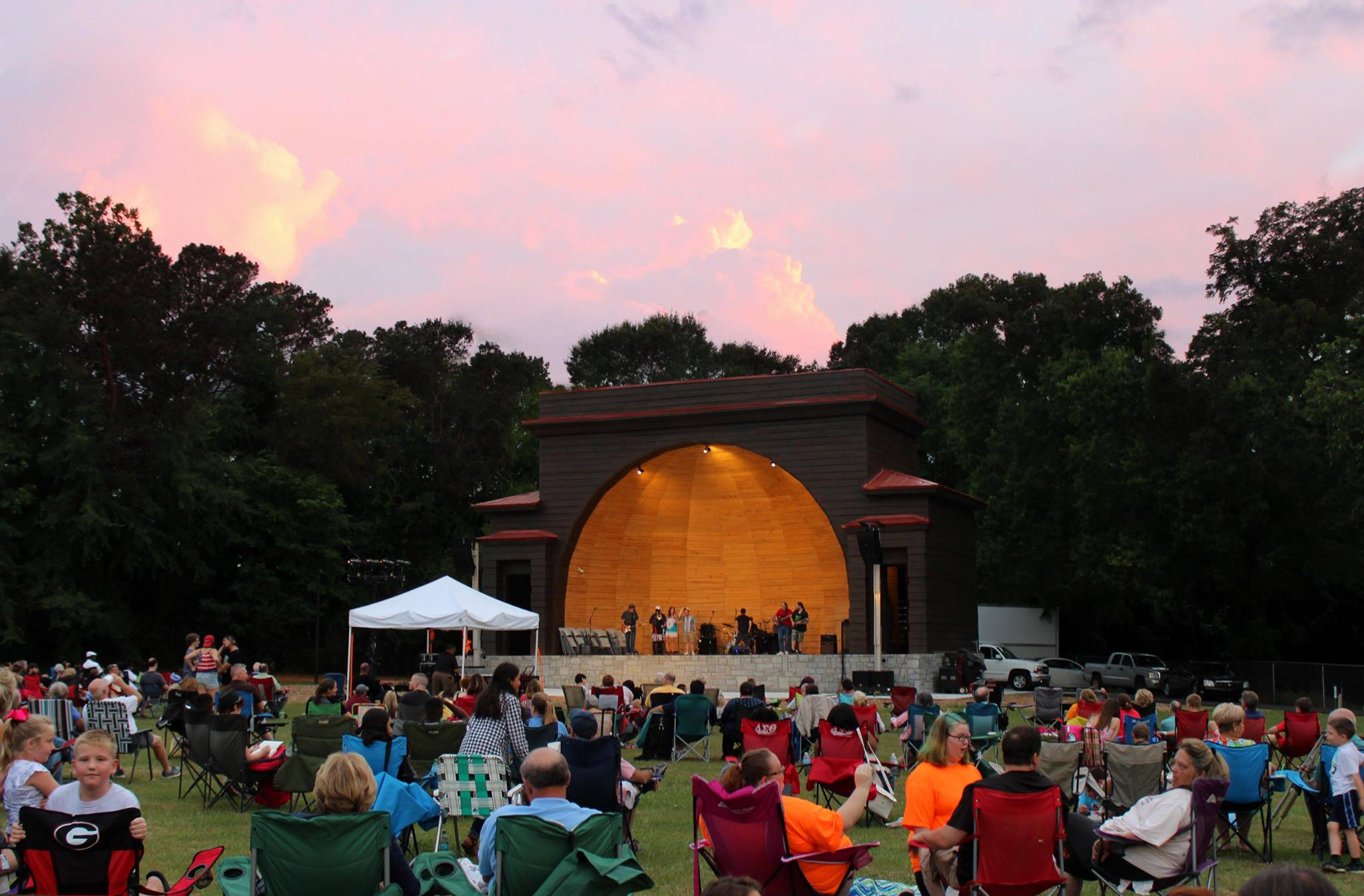 Legion Field Bandshell