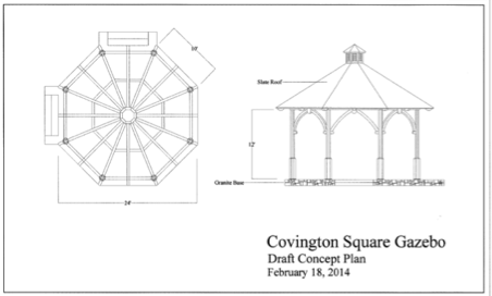 Covington Square Gazebo Detail