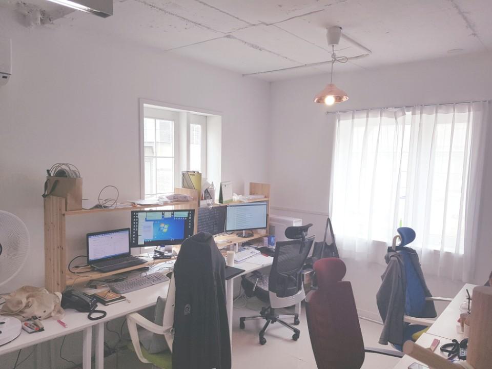 네트론 1F 사무실 전경