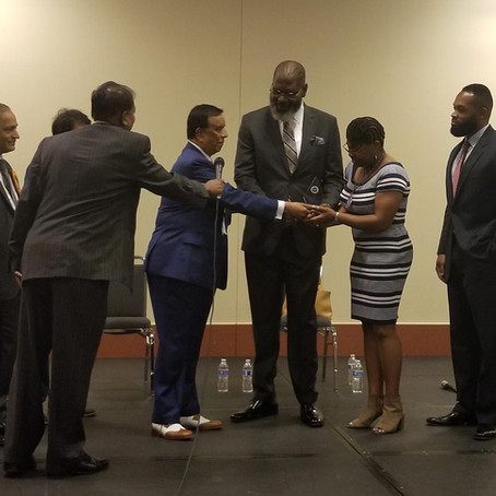 TCJ CEO Terrance Johnson invited as guest speaker at Indian Chamber in Cincinnati, Ohio.