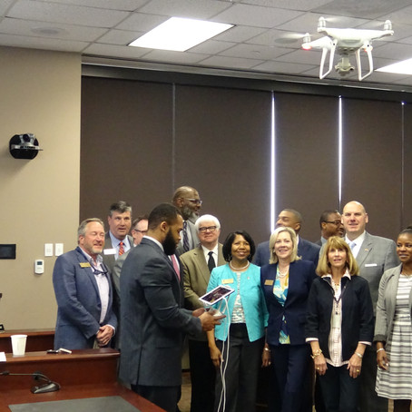 TCJ Invited to provide drone demonstration for Georgia Department of Education State Board.