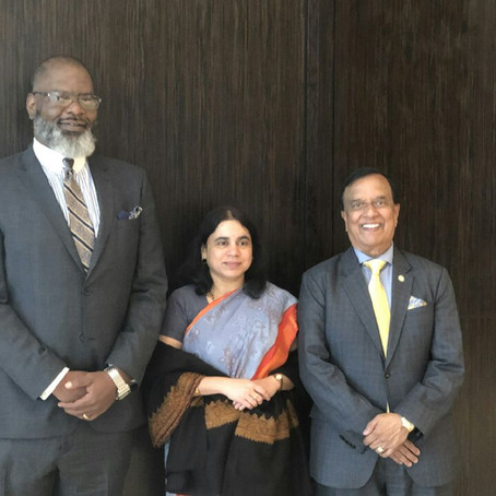CEO of TCJ AeroTech Invited As Special Guest to Doing Business with India Conference - Pictured With