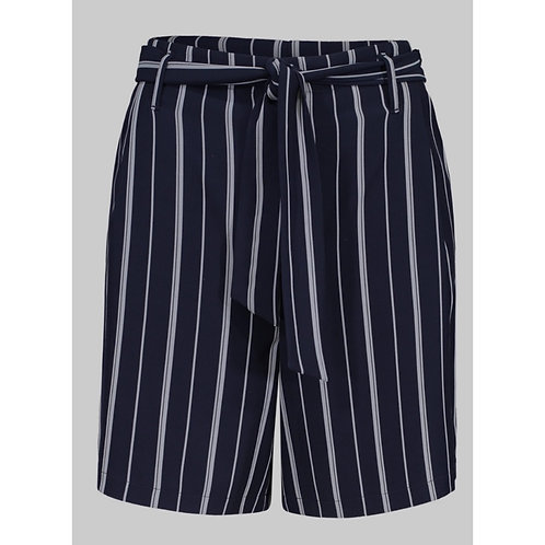 Stripe Fly Front Short with Tie by Tribal
