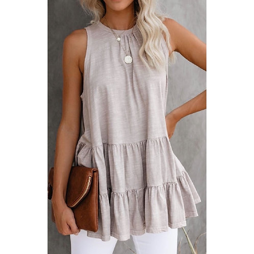 """The """"Feel the Breeze"""" Tank Style Blouse"""