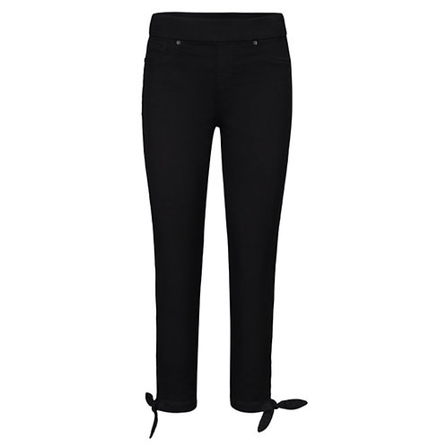 Cropped pant with knot detail (pull on)
