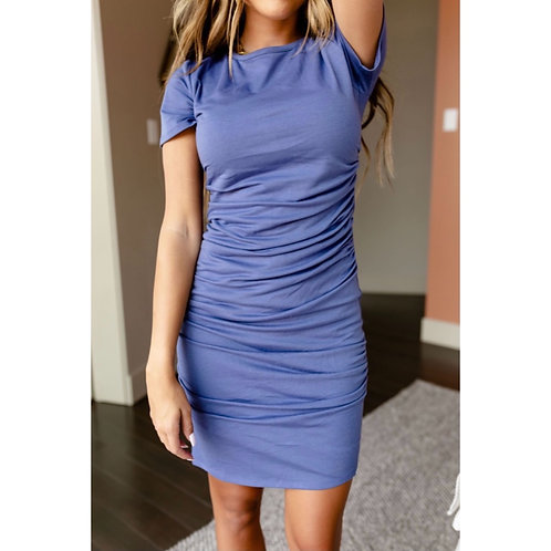 Better Than Basic Dress - Periwinkle