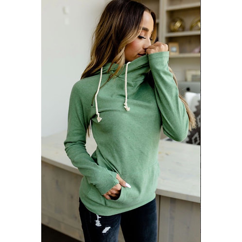 Emerald Hoodie by Ampersand Ave