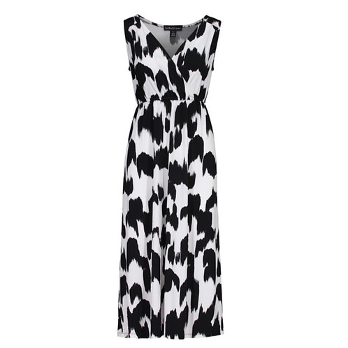 Sleeveless high-low Maxi Dress