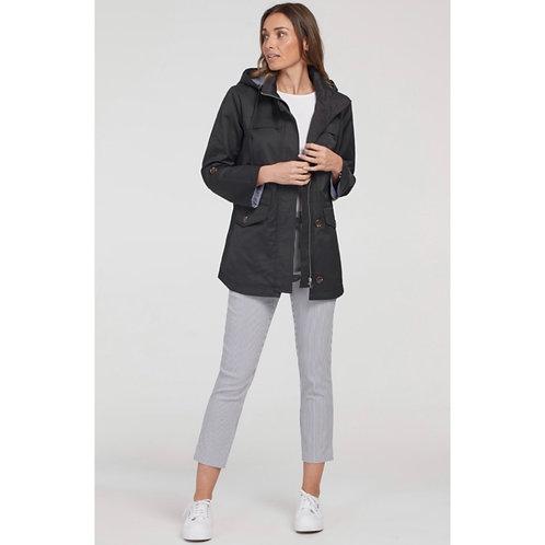 L/S coat with detachable hood - Tribal