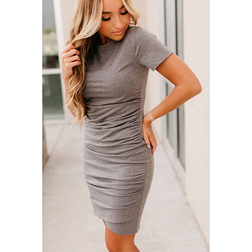 Better Than Basic Dress - Grey