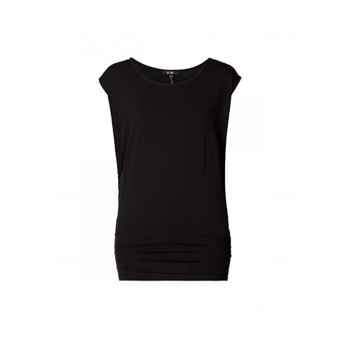Yelitza - Black Tunic Top by Yest