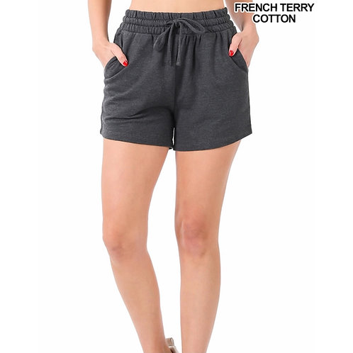 French Terry Grey Short