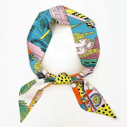 Headband & Scarf