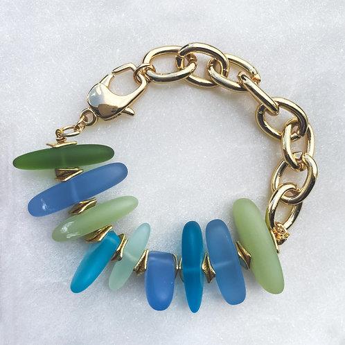Glass Chunky Bracelet