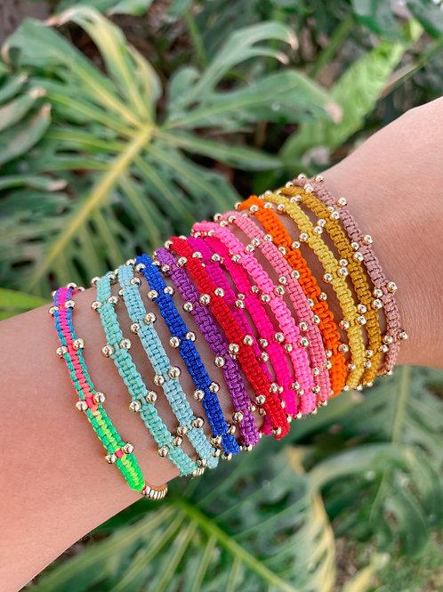 Tiny Thread Bracelets
