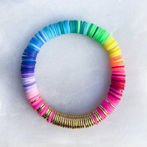 Hematite Ombré Bracelet