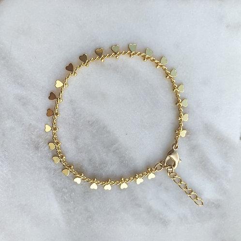 Mini Hearts Accent Bracelet