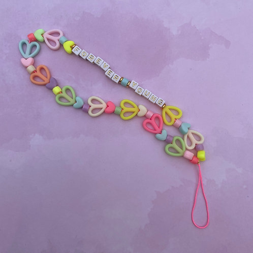 Personalized Phone Strap