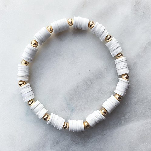 Black & White Puca Tiny Bracelets