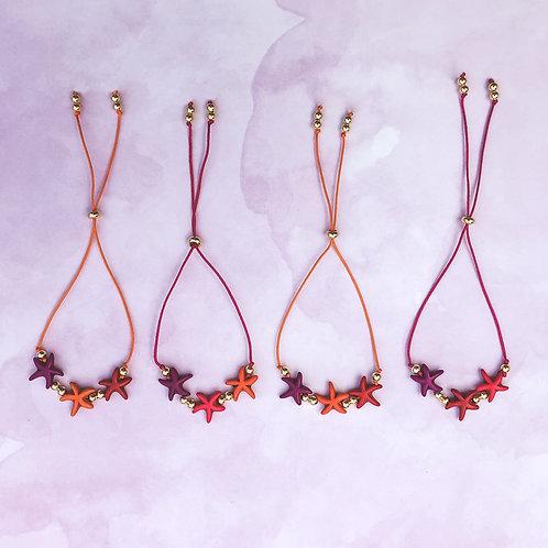 Colorful Starfish Bracelets