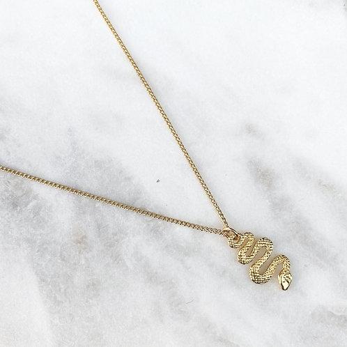 Mini Snake Necklace