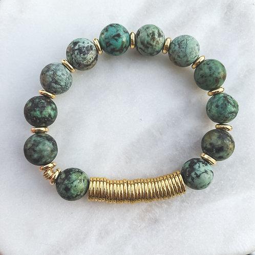 PREVENTA African Turquoise Bracelet