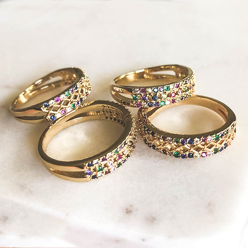 Rainbow Rings Collection