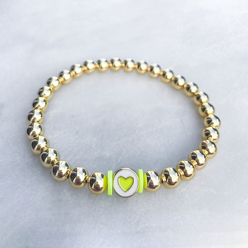 A Little Bit Of Love With A Touch Of Color Bracelets