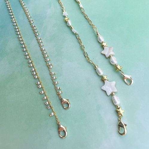 Pearls Mask Chain Holder