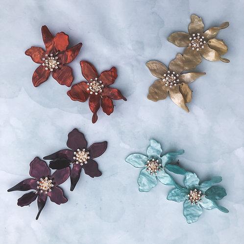 Maxi Flower Earrings
