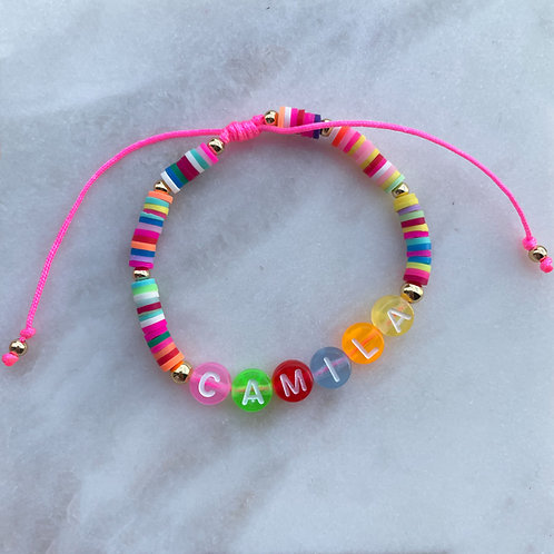 Colorful Puca Personalized Bracelet