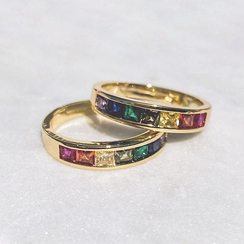 Rainbow Adjustable Ring