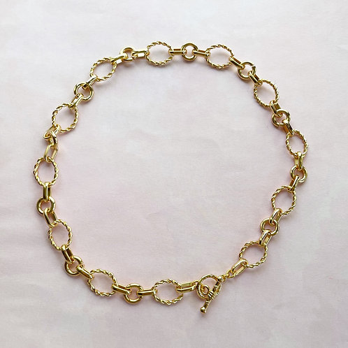 Chunky Twisted Chain Necklace