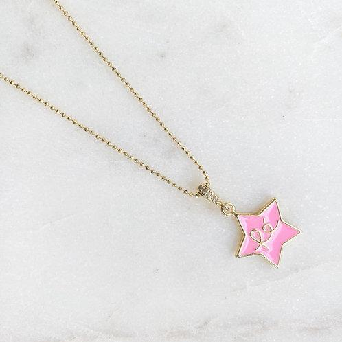 Fé Stars Neón Necklaces