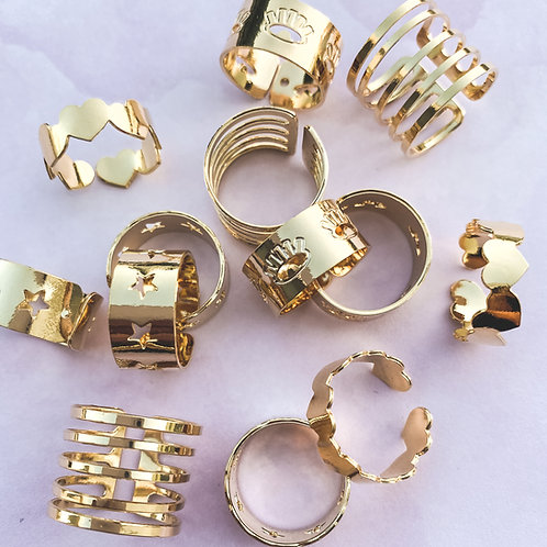 Adjustable Rings