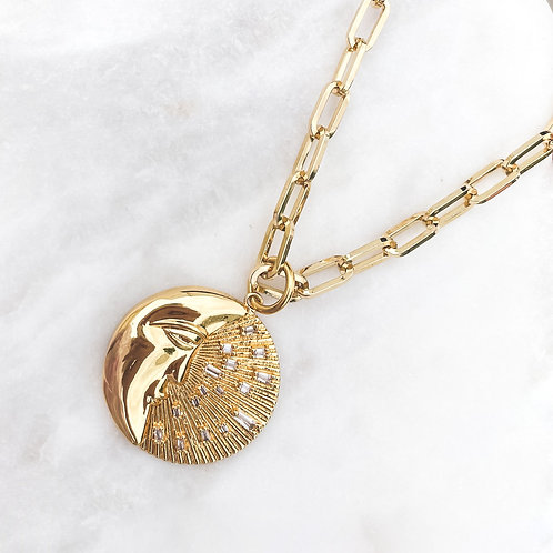 Moon Flares Necklace
