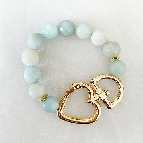 Amazonite Clasp Bracelet