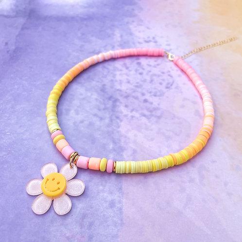 Smiley Daisy Necklaces