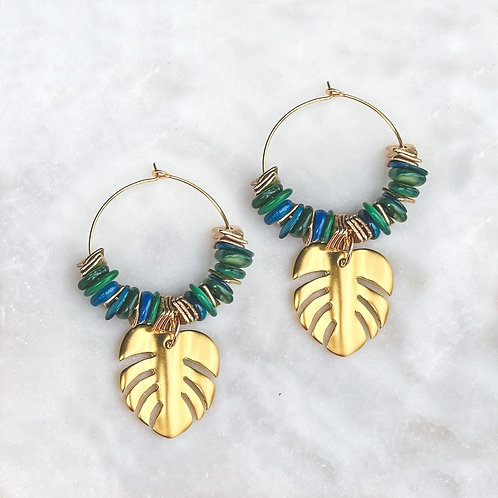 Tropical Vibes Stone Earrings