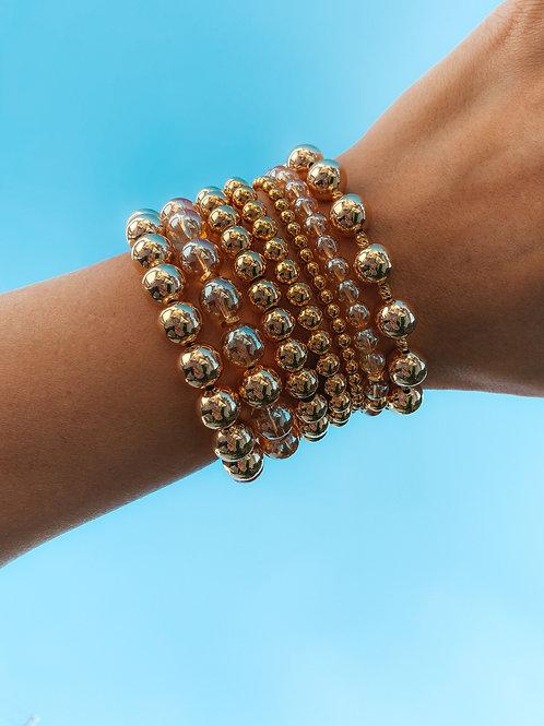 DIY Stack Of Bracelets