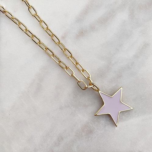Star Enamel Necklaces